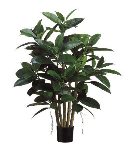 Artificial rubber tree 1m